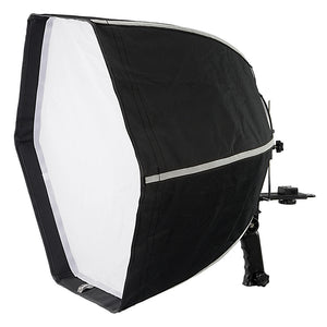 Fotodiox F60 Quick-Collapse Flash Softbox - 60cm (24in) Hexagon for Canon Speedlight and Nikon, Vivitar, Sunpack, Nissin, Sigma, Sony, Pentax, Olympus, Panasonic Lumix Flash