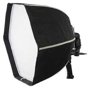 Fotodiox F60 Quick-Collapse Flash Softbox - 60cm (24in) Hexagon for Flash / Speedlight