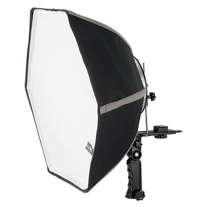 Fotodiox Quick-Collapse Flash Softbox - 50cm (20in) Hexagon for Canon Speedlight and Nikon, Vivitar, Sunpack, Nissin, Sigma, Sony, Pentax, Olympus, Panasonic Lumix Flash