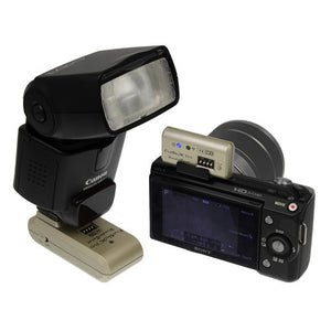 Fotodiox Pro WonderBurst NEX Radio Flash Trigger Kit (1TX+1RX) - 2.4GHz Wireless Trigger for Sony NEX Cameras