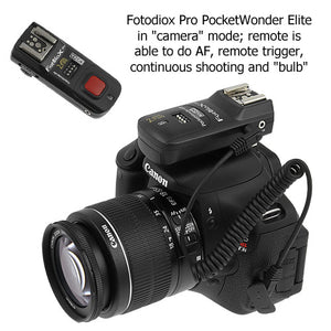 Fotodiox Pro PocketWonder Elite 4-in-1 w/ TTL pass-thru, Radio Wireless Trigger Starter Kit  with TTL pass-through, Shutter Release, TTL pass-through
