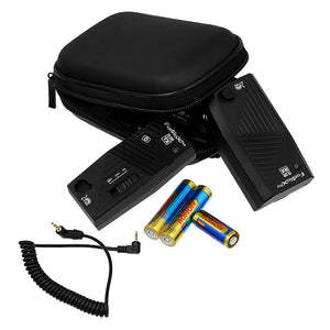 Fotodiox Pro FX-380 2.4GHz 32-Channel Wireless Radio Shutter Release Kit for Most SLR/DSLR Cameras