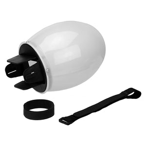 Fotodiox Flash Diffuser Dome - Small (2.75in Head) On Camera Flash/Speedlight Diffuser