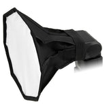 8in Octagon Foldable Flash Softbox for Speedlight