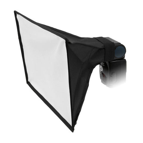 "Fotodiox 8x12"" Foldable Flash Softbox for Speedlights; Nikon, Canon, Vivita, Sunpack, Nissin, Sigma, Sony, Pentax, Olympus, Panasonic"