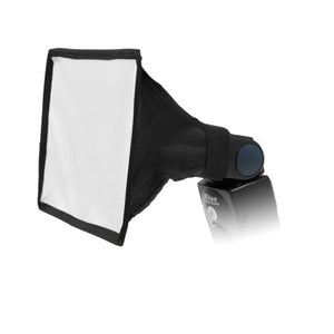 "Fotodiox 6x9"" Foldable Flash Softbox for Speedlights; Nikon, Canon, Vivita, Sunpack, Nissin, Sigma, Sony, Pentax, Olympus, Panasonic"