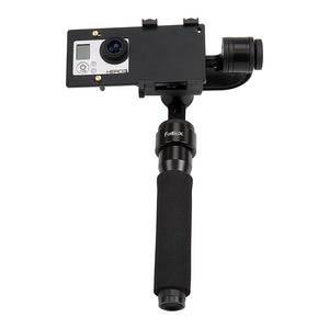 Fotodiox Freeflight Moto MKII - 3-Axis Handheld Gimbal Stabilizer for GoPro Hero, Smartphone & iPhone - Handheld Powered Video Stabilizer System and Stealthy Camera Support Mount