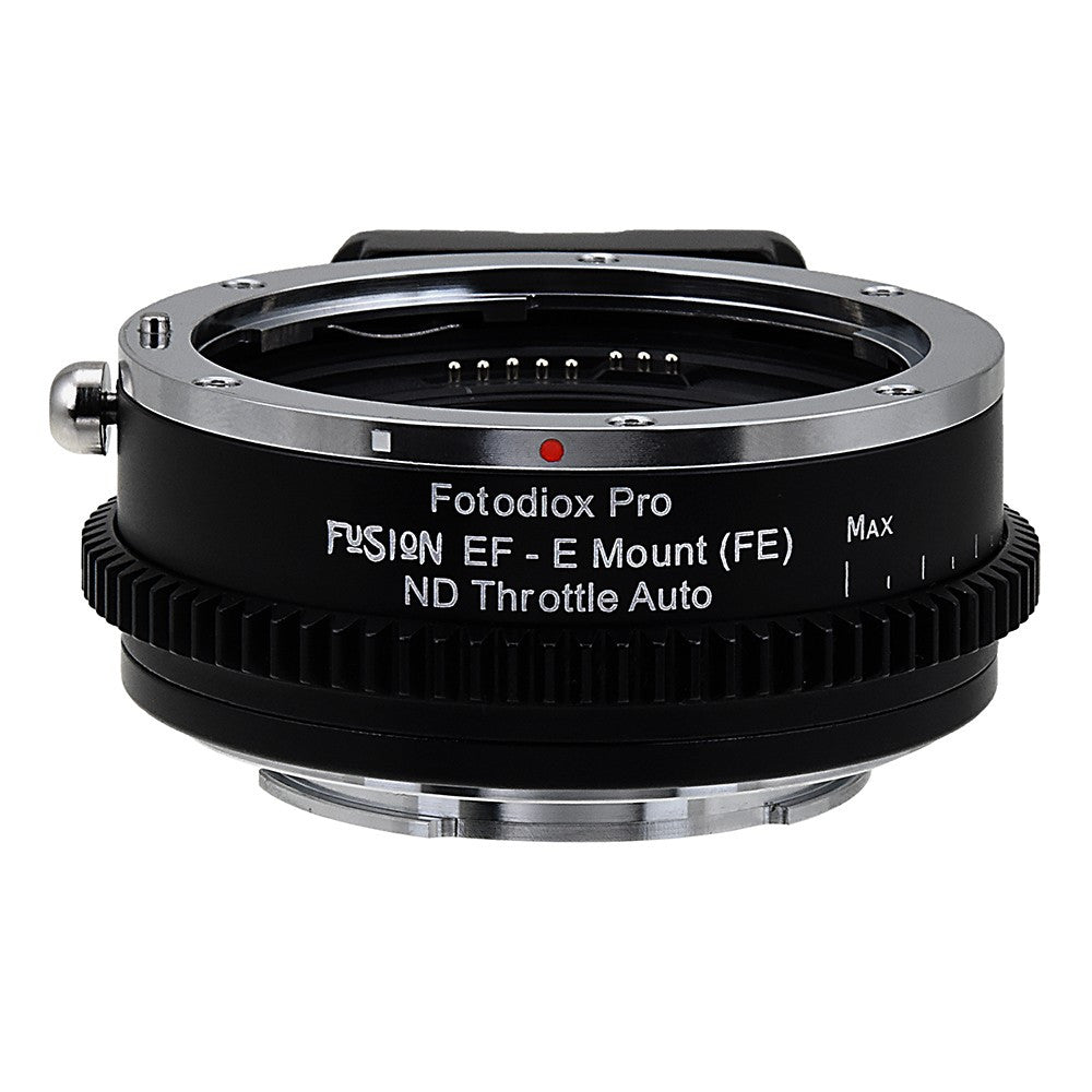 Vizelex ND Throttle Fusion Smart AF Lens Adapter - Canon EOS - EF (NOT  EF-S) D/SLR Lens to Sony Alpha E-Mount Mirrorless Camera Body with Full
