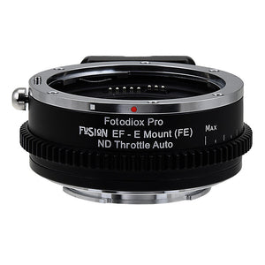 Canon EOS (EF, EF-s) SLR Lens to Sony Alpha E-Mount Camera Body Adapter