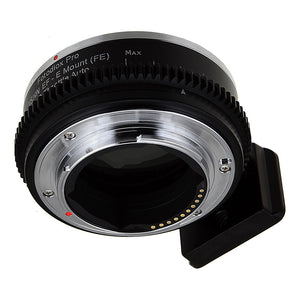 Vizelex ND Throttle Fusion Smart AF Lens Adapter - Canon EOS - EF (NOT EF-S) D/SLR Lens to Sony Alpha E-Mount Mirrorless Camera Body with Full Automated Functions and Built-In Variable ND Filter (1 to 8 Stops)