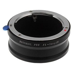 Fujica 35 X-mount SLR Lens to Sony Alpha E-Mount Camera Body Adapter