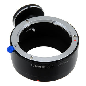 Fotodiox Pro Lens Mount Adapter - Fuji Fujica X-Mount 35mm (FX35) SLR Lens to Canon EOS M (EF-M Mount) Mirrorless Camera Body