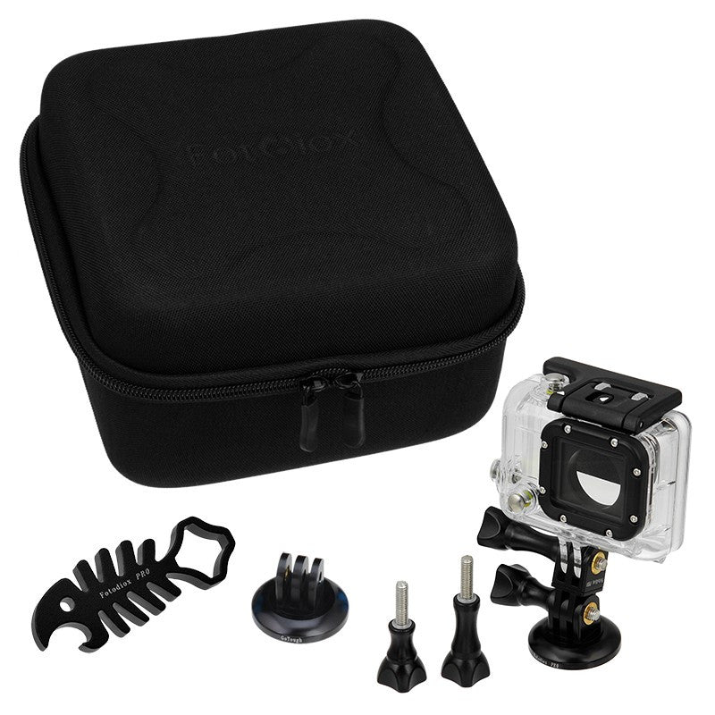 GoTough CamCase Double Black Kit with Accessories