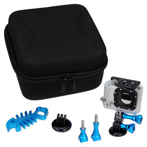 GoTough CamCase Double Blue Kit with Accessories