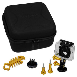 GoTough CamCase Double Gold Kit with Accessories