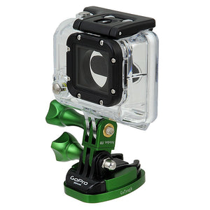 Fotodiox Pro GoTough QR Mount w/ Screw Holes - Aluminum GoTough Tripod Mount w/ Screw Holes for  for Gopro Hero Sport Camera and all GoPro Adapter Mounts with Quick-Release Clips