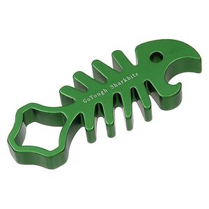 GoTough Green SharkBite Aluminum Wrench