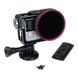 Fotodiox Pro GoTough Sharkcage for GoPro HERO3/3+/4 Naked Action Cameras - Skeleton Housing Protective Cage Case