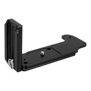 Exxy L-Bracket for Fujifilm GFX 50S Camera from Fotodiox Pro - All Metal Black Camera Hand Grip for Arca Swiss or Arca Swiss-Type Quick Releases