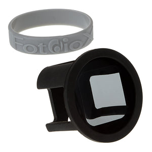 Fotodiox GoTough Silicone Mount with Neutral Density 0.6 (ND4, 2-Stop) Filter for GoPro HERO & HERO5 Session Camera