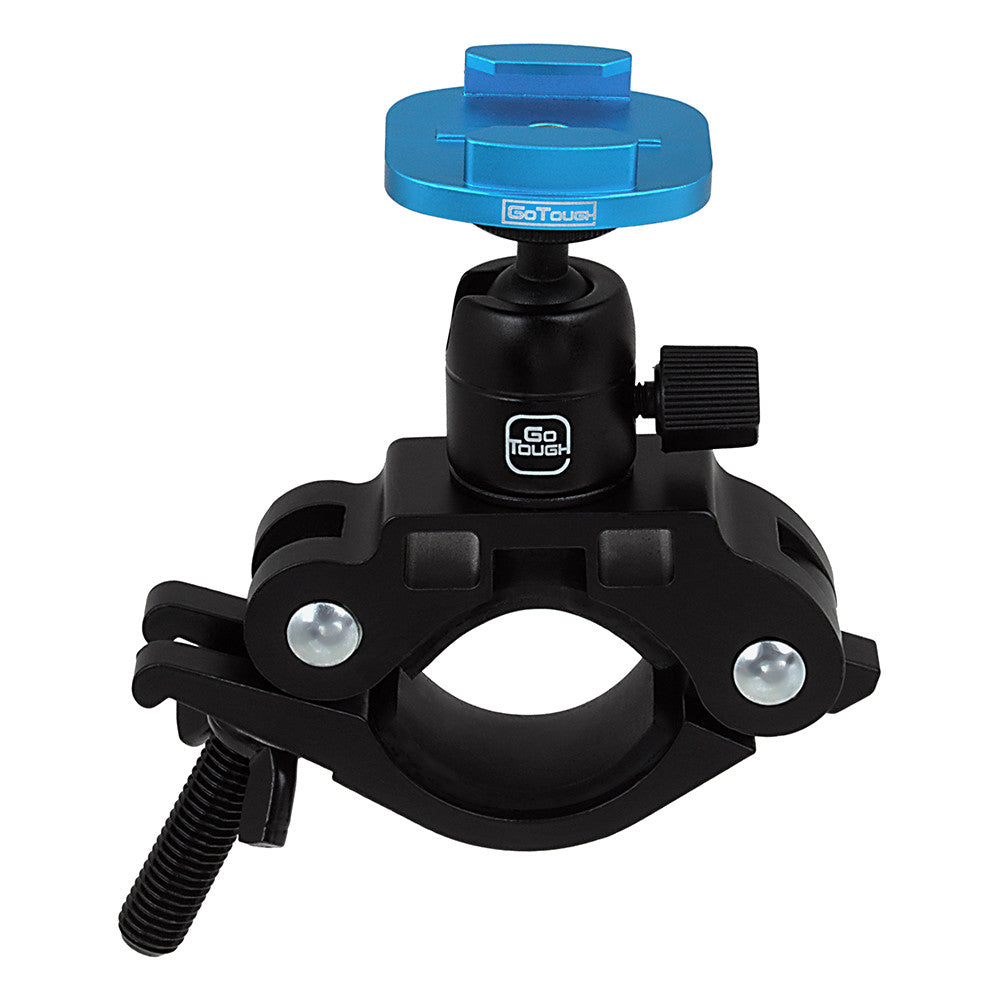 Gopro Roll Bar Mount >> Fotodiox Pro Gotough Racing Mount Handlebar Seatpost Qr Mount Aluminum Large Pipe Clamp Mount For Gopro Hero Mounting Buckle System