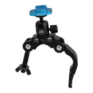 Fotodiox Pro GoTough Racing Mount, Handlebar / Seatpost QR Mount - Aluminum Large Pipe Clamp Mount for GoPro HERO Mounting Buckle System