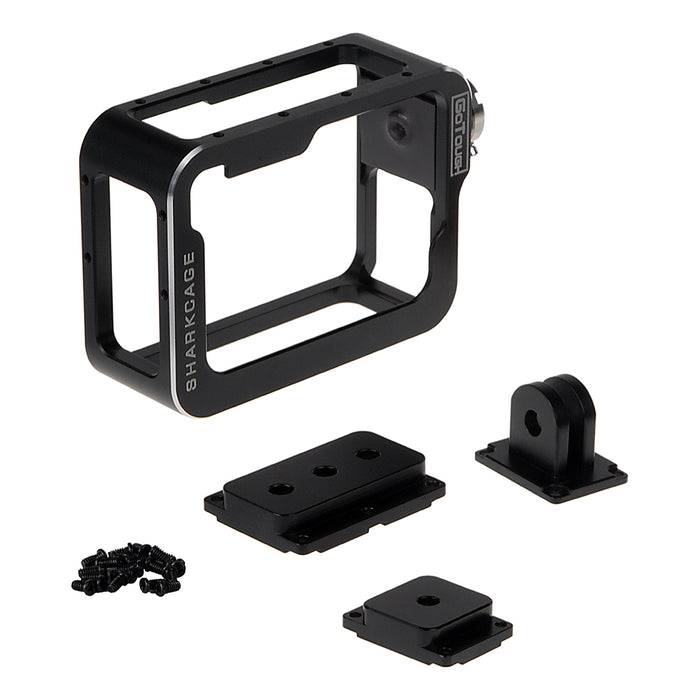 Fotodiox Pro GoTough Sharkcage for GoPro HERO5/6/7 Naked Action Cameras - Skeleton Housing Protective Cage Case