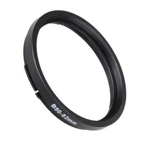 Fotodiox Step Up Filter Adapter Ring for Hasselblad Bayonet, Anodized Black Metal Filter Adapter Ring