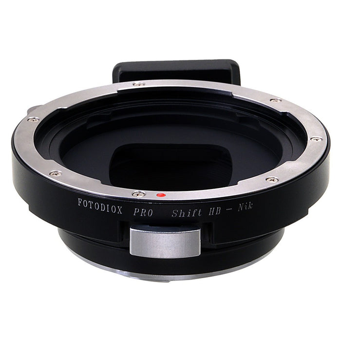Fotodiox Pro Shift Lens Mount Adapter - Hasselblad V-Mount SLR Lens to Nikon F Mount SLR Camera Body