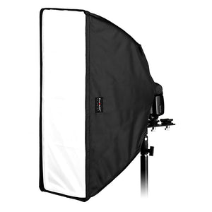 "Fotodiox Ez-Pro-Mini Flash Softbox K2560 10"" x 24"" (25cm x60cm) Rectangle for Flash"