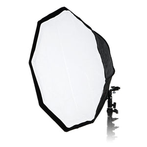 "Fotodiox Ez-Pro-Mini Flash Softbox K60 24"" (60 cm) Octagon for Nikon Flash, Canon Speedlight, Vivitar Flash, Sunpack, Nissin, etc"