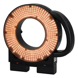 Magnetic Warming Filter for LED-411A Ringlight from Fotodiox Pro - CTO Converts Daylight to 3200k Tungsten Light