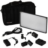 Fotodiox Pro LED-876A, Professional 876-LED Dimmable Photo/Video Light Kit with included batteries and charger