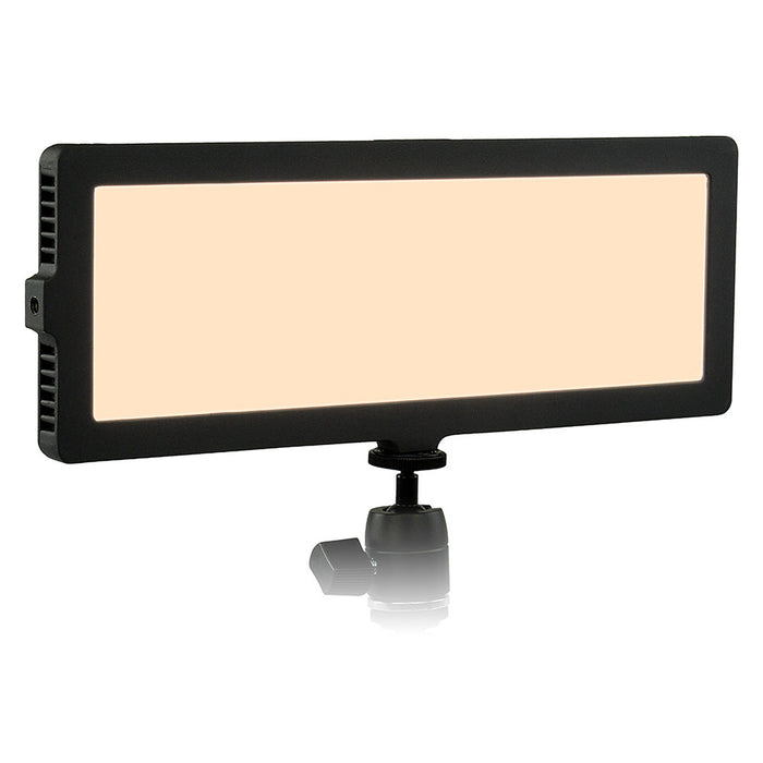 Fotodiox Pro FlapJack LED C-218AS Edge Light - 4x11in Long Rectangle Ultra-thin, Ultrabright, Dual Color LED Photo/Video Light Kit