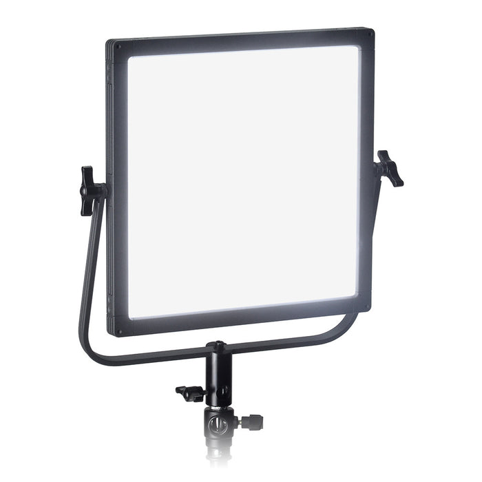 Fotodiox Pro FlapJack 1x1 LED C-518ASV Bicolor Edge Light - 12x12in Square Ultra-thin, Ultrabright, Dual Color LED Photo/Video Light Kit