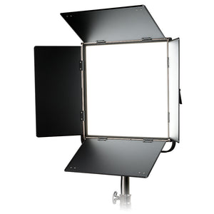Fotodiox Pro FlapJack Studio 1.5x1.5 LED C-818ASV Bicolor Edge Light - 18x18in Square Ultra-thin, Ultrabright, Dual Color LED Photo/Video Light Kit