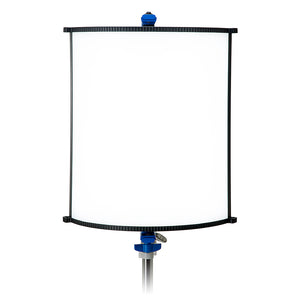 Fotodiox Pro FACTOR Radius2 Wide Angle Light - 2x2 ft Curved Bicolor Dimmable Studio Light