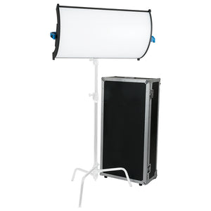 Fotodiox Pro FACTOR Radius3 Wide Angle Light - 3x2 ft Curved Bicolor Dimmable Studio Light