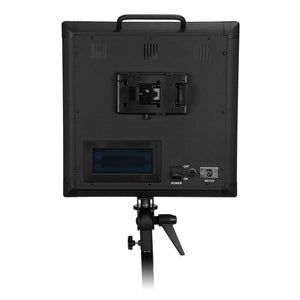CLEARANCE: Fotodiox Pro LED-1000AVL, Still / Video LED Light Kit, with Dimmable Control, 12V AC Power Adapter, Light Stand bracket with Barndoor and LCD Touchscreen Control
