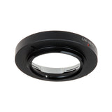 Fotodiox Lens Mount Adapter - Leica M Rangefinder Lens to Micro Four Thirds (MFT, M4/3) Mount Mirrorless Camera Body