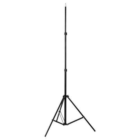 "Fotodiox Compact Light Stand, 6'5"" Stand with Spring Cushion for Studio Strobe and Lighting Fixtures"