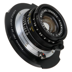 Fotodiox Pro Lens Adapter - Compatible with Leica M Rangefinder Lenses to Sony CineAlta FZ-Mount Cameras