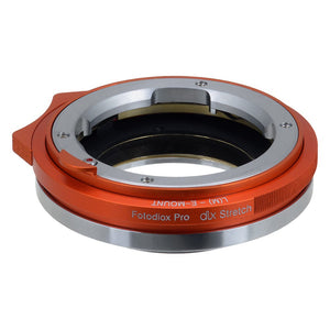 Leica M Rangefinder Lens to Sony Alpha E-Mount Camera Bodies