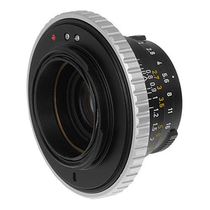 Fotodiox Macro Lens Mount Adapter - Leica M Rangefinder Lens to Sony Alpha E-Mount Mirrorless Camera Body with Variable Close Focusing