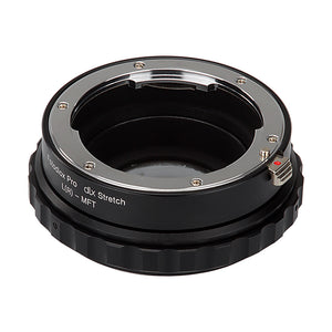 Fotodiox DLX Stretch Lens Mount Adapter - Leica R SLR Lens to Micro Four Thirds (MFT, M4/3) Mount Mirrorless Camera Body with Macro Focusing Helicoid and Magnetic Drop-In Filters