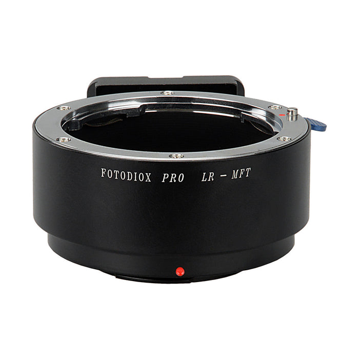 Fotodiox Pro Lens Mount Adapter - Leica R SLR Lens to Micro Four Thirds (MFT, M4/3) Mount Mirrorless Camera Body
