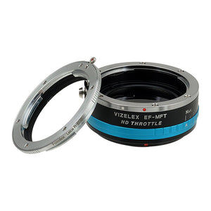 Leica R SLR Lens to MFT (Micro-4/3, M4/3) Mount Camera Bodies, with Built-In Variable ND Filter (2-Stop to 8-Stops)