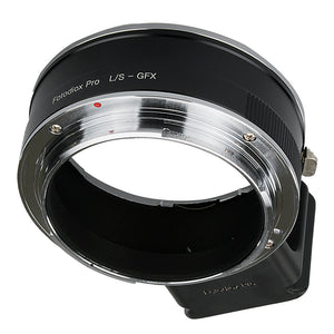 Fotodiox Pro Lens Mount Adapter, Leica S (LS) Mount DSLR Lens to Fujifilm G-Mount GFX Mirrorless Digital Camera Systems (such as GFX 50S and more)