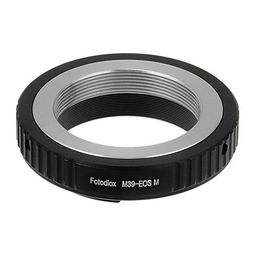 Fotodiox Lens Mount Adapter - M39/L39 (x1mm Pitch) Screw Mount Russian & Leica Thread Mount Lens to Canon EOS M (EF-M Mount) Mirrorless Camera Body