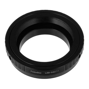 Fotodiox Lens Adapter - Compatible with M39/L39 (x1mm Pitch) Screw Mount Russian & Leica Thread Mount Lenses to Nikon 1-Series Mirrorless Cameras